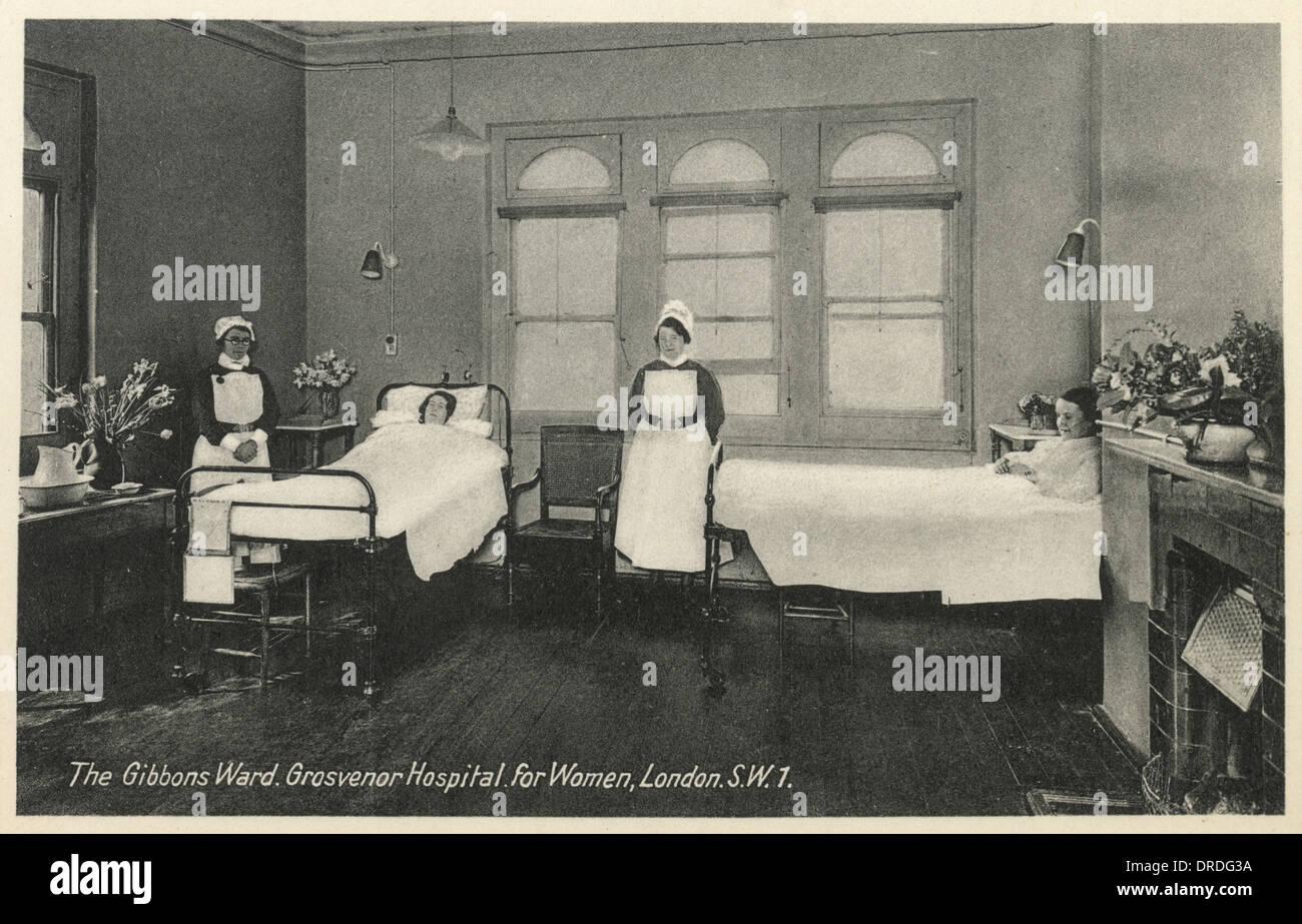 Grosvenor Hospital for Women, London Stock Photo