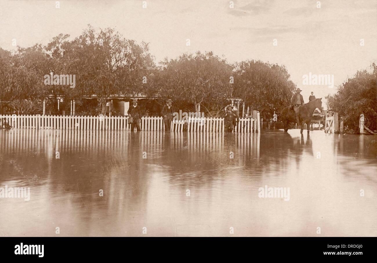Floods in Australia - Stock Image