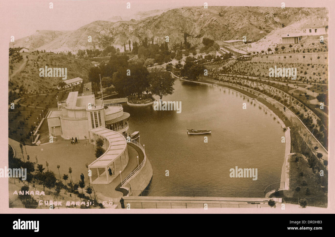Bayindir Dam, Ankara, Turkey - Stock Image