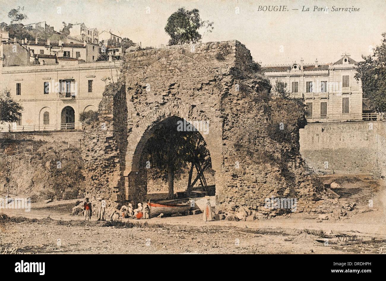 The Bab al-Bahr (Gate of the Sea) - Bejaia, Algeria Stock Photo