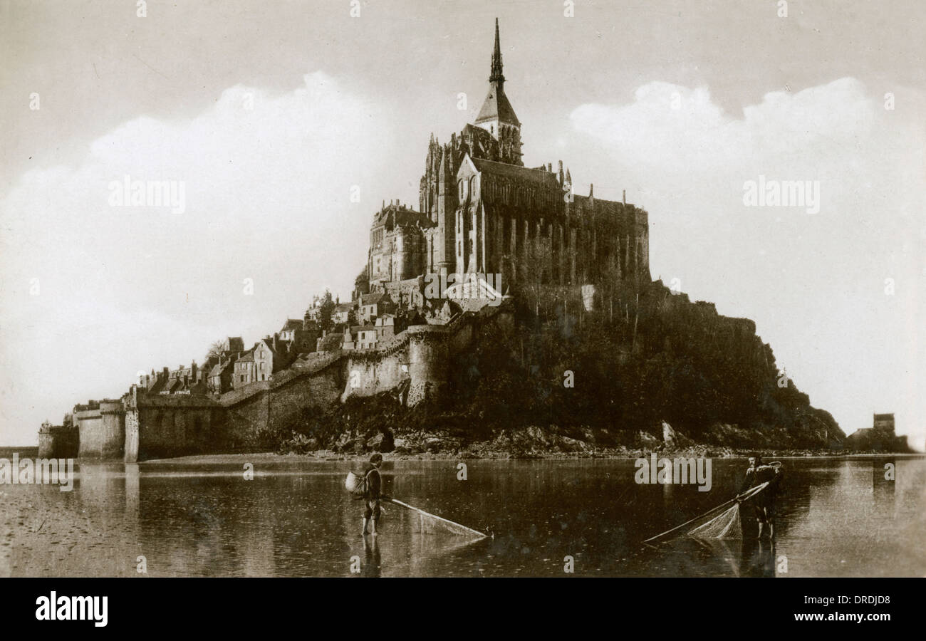 Mont St Michel, France - Stock Image