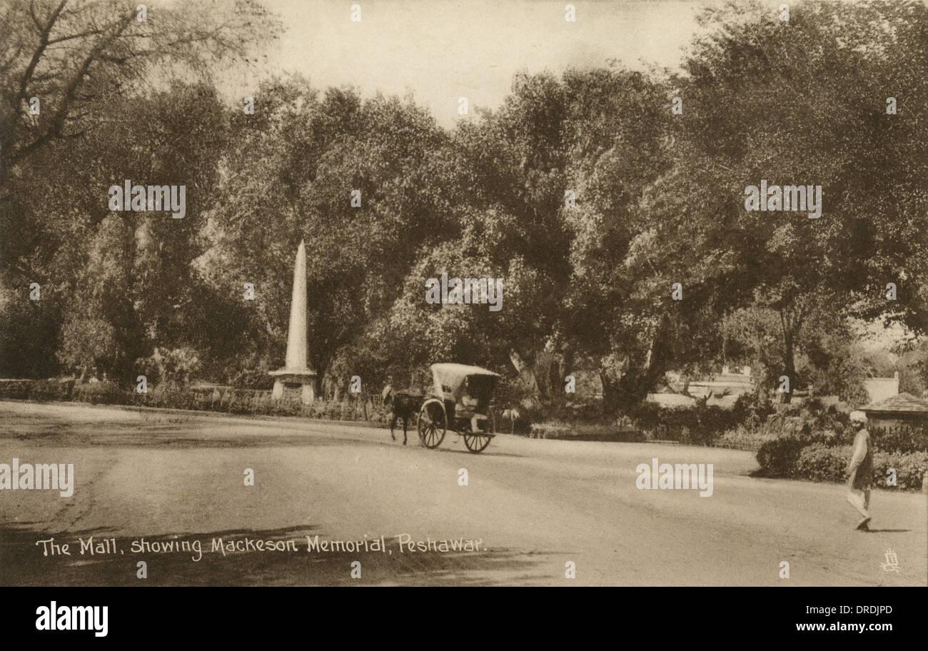 Mackeson Memorial, Peshawar - Stock Image