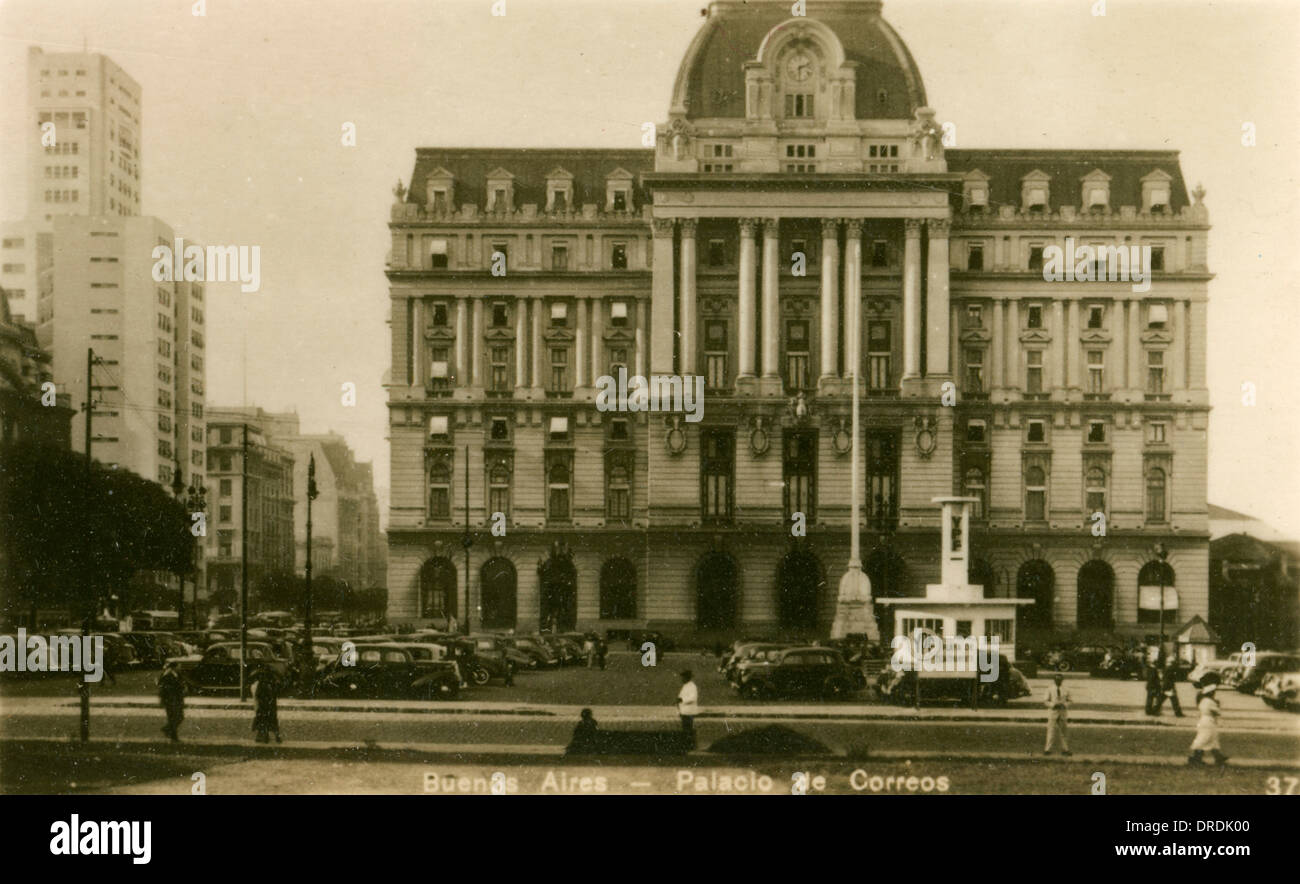 Argentina - Buenos Aires - The Postal Palace Stock Photo