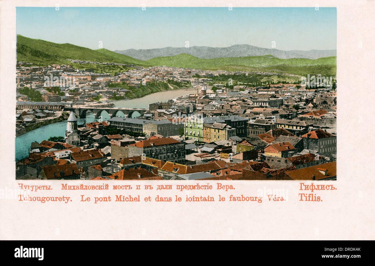 Tbilisi, Georgia - The outer suburb of Vera - Stock Image