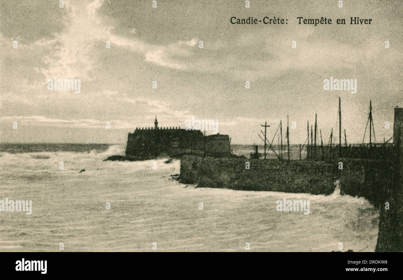 Greece, Crete - Iraklion - The Venetian fortress - Stock Image