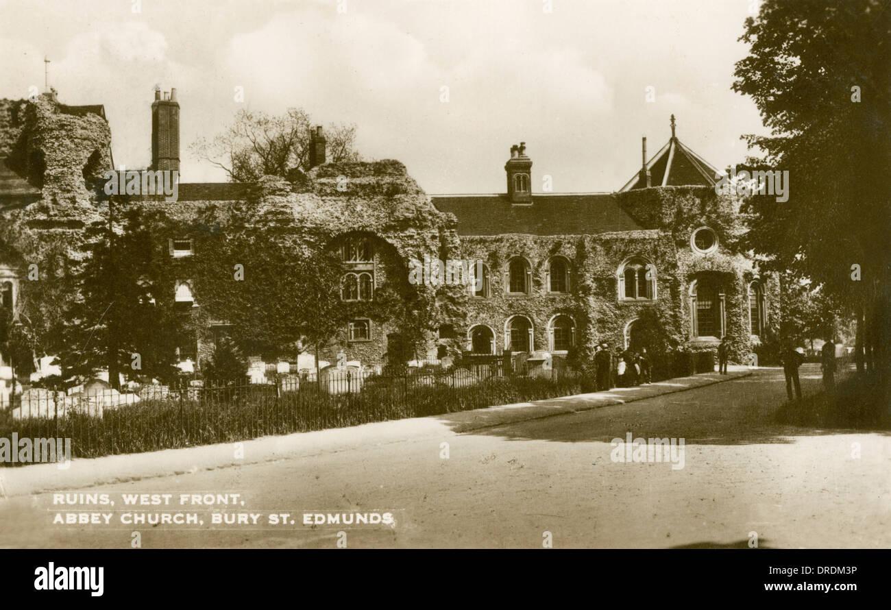 Abbey Church, Bury St. Edmunds - Stock Image