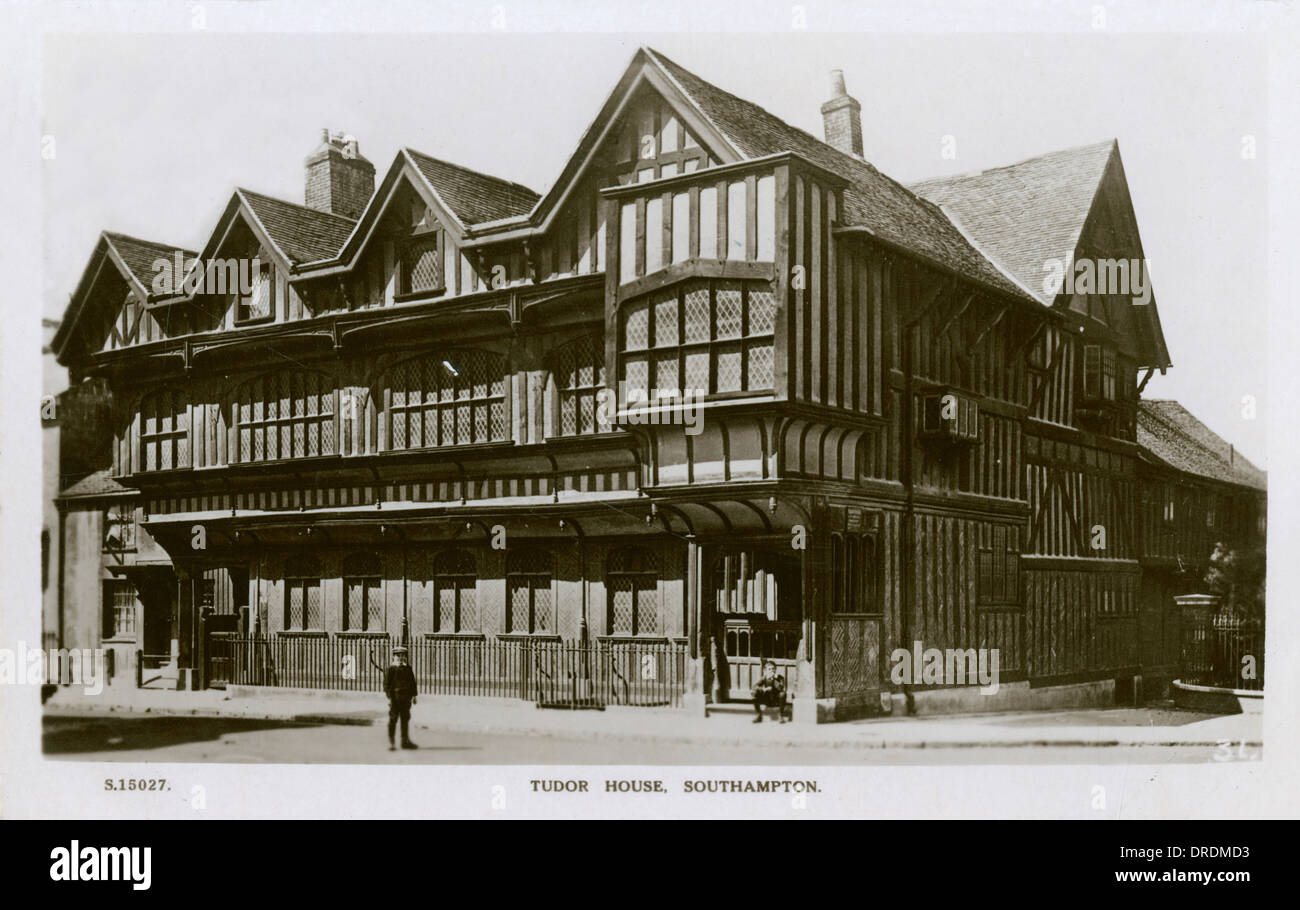 Tudor House - Southampton - Stock Image