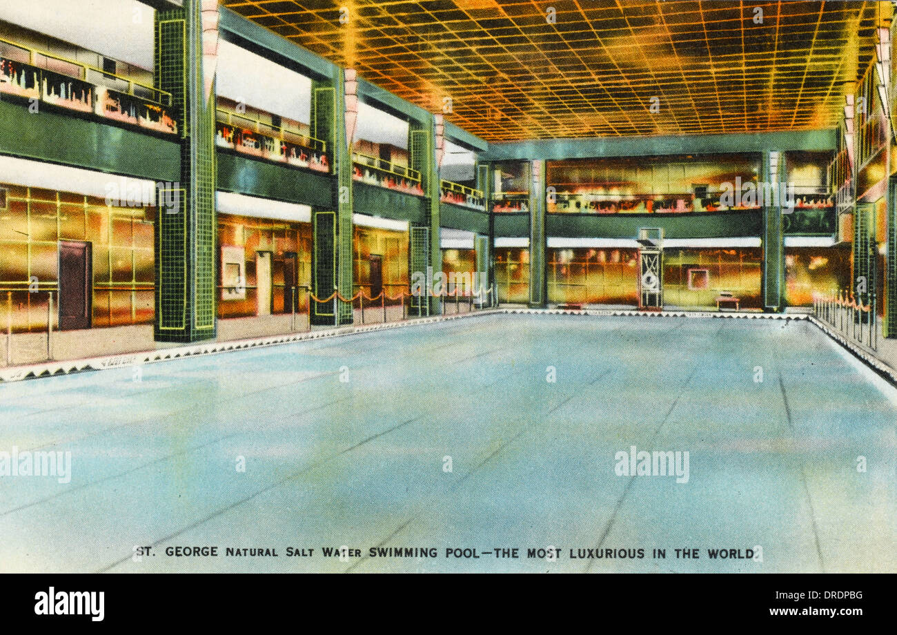 Hotel St. George, Brooklyn - Stock Image