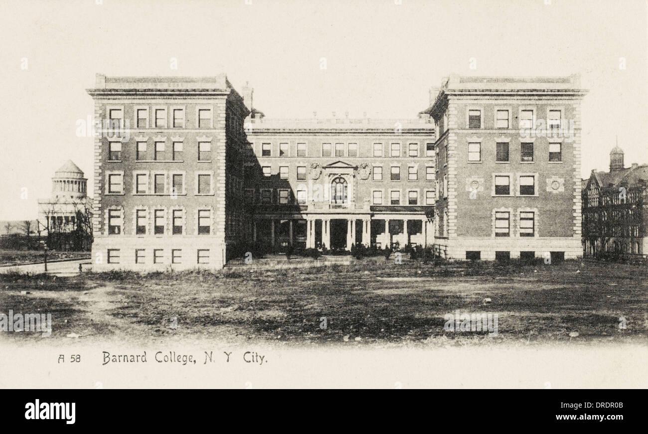 Barnard College, New York - Stock Image