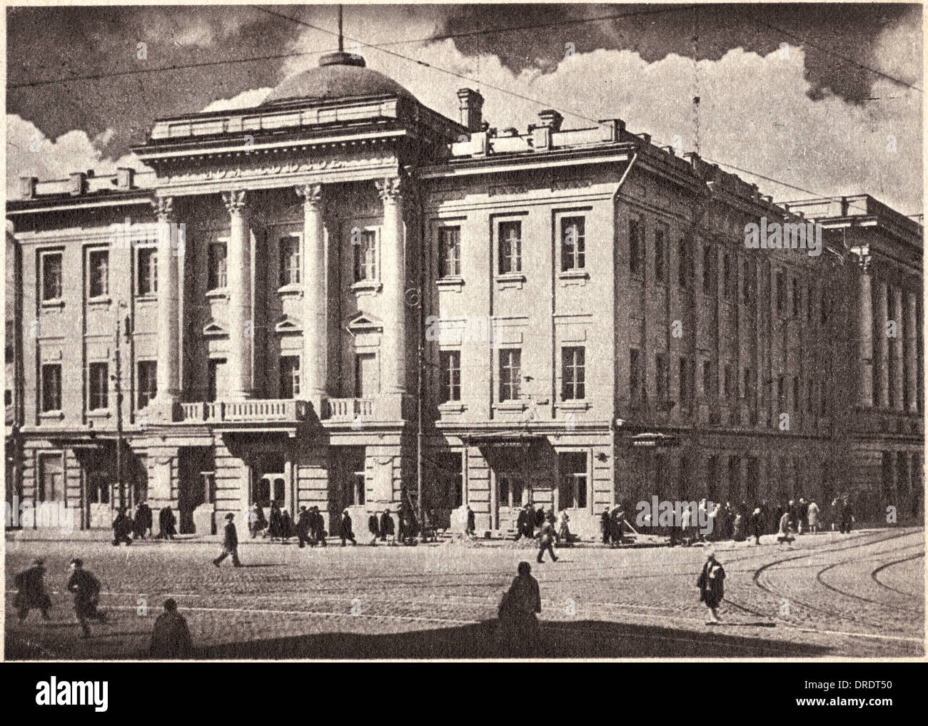 House of the Trade Unions, Moscow, Soviet Union - Stock Image