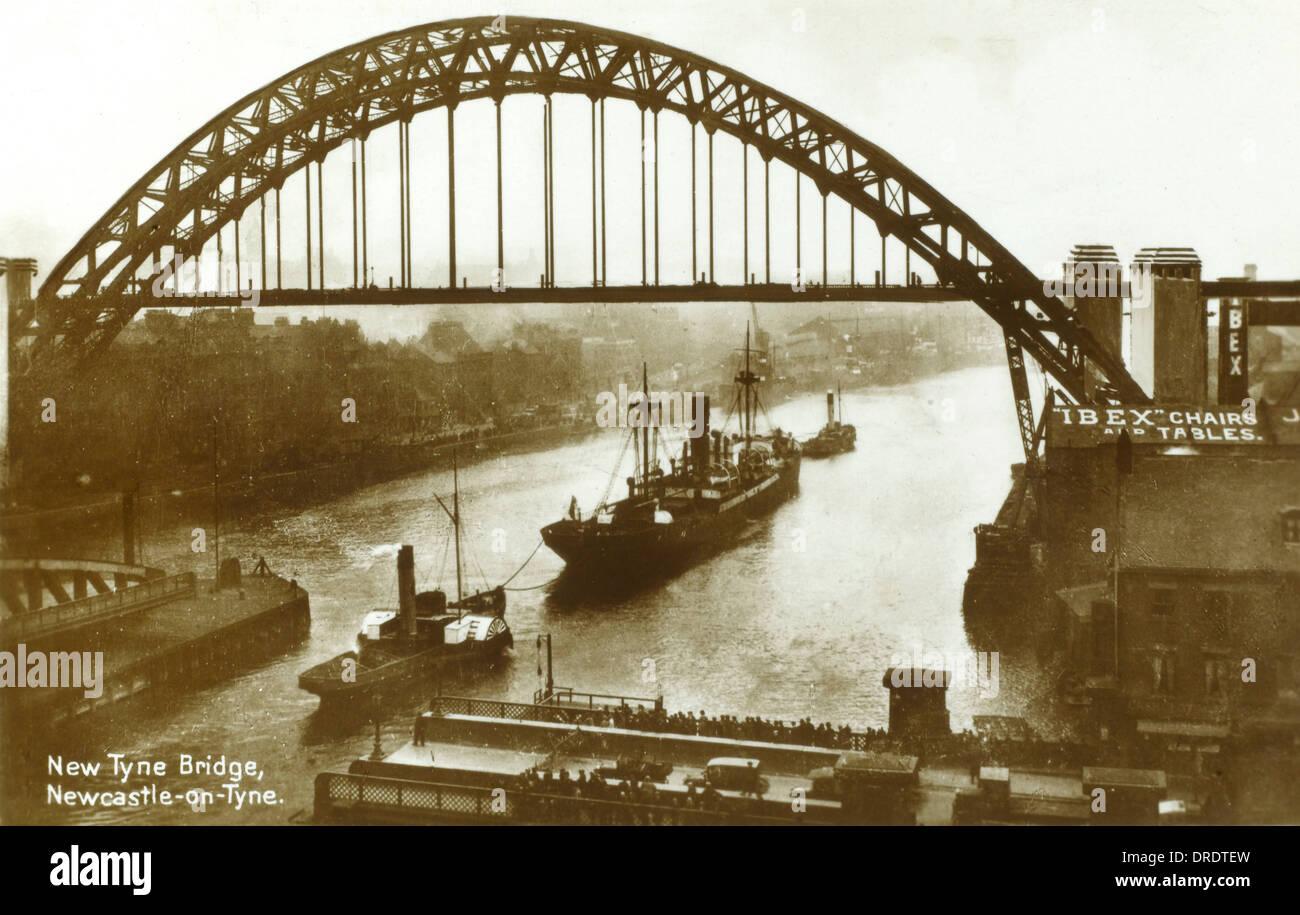 The New Tyne Bridge, Newcastle upon Tyne - Stock Image