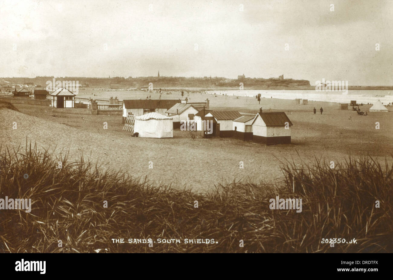 South Shields, Tyne and Wear - The Sands - Stock Image