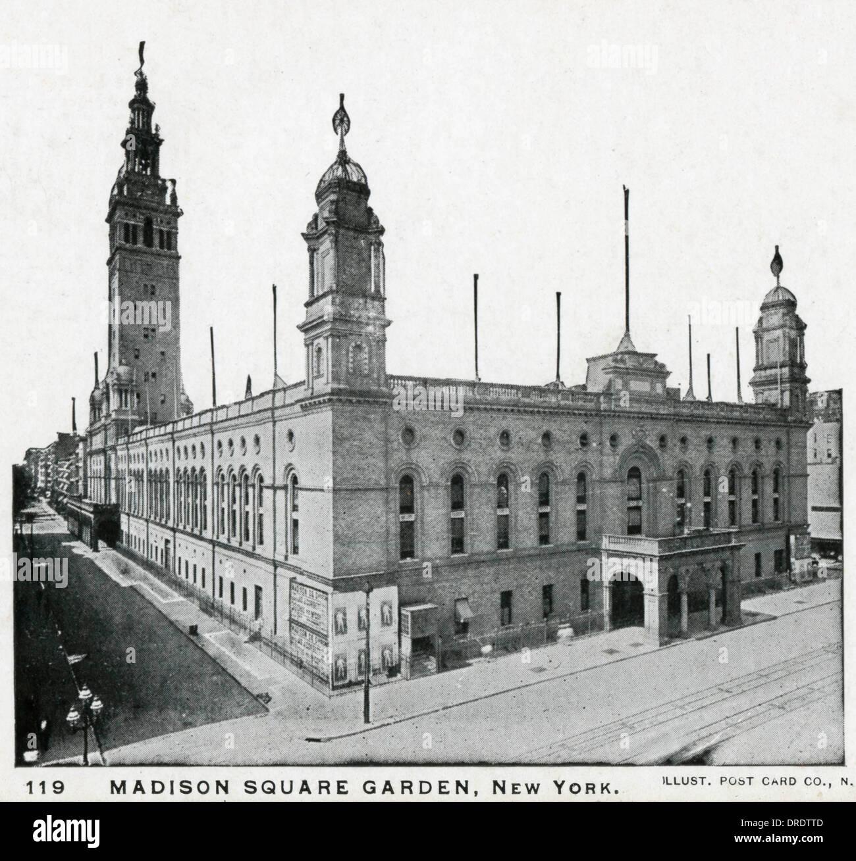 Madison square garden history stock photos madison - History of madison square garden ...