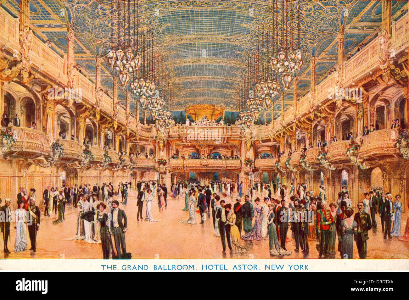 Hotel Astor, New York - Stock Image