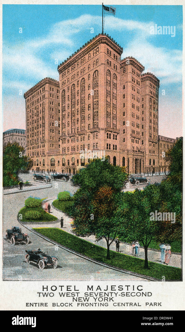 2a89ef97b Hotel Majestic, New York Stock Photo: 66073281 - Alamy