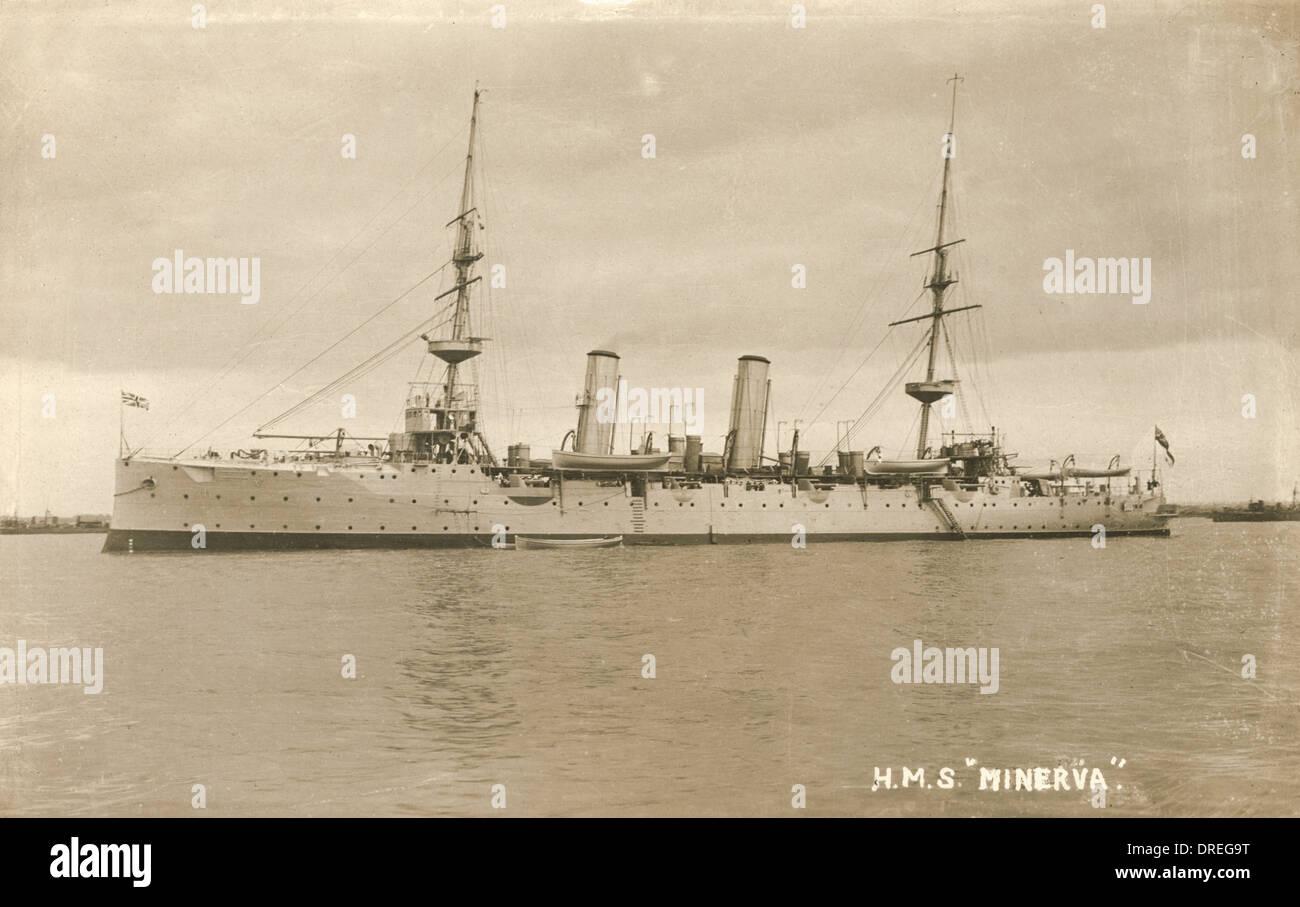 HMS Minerva - Stock Image