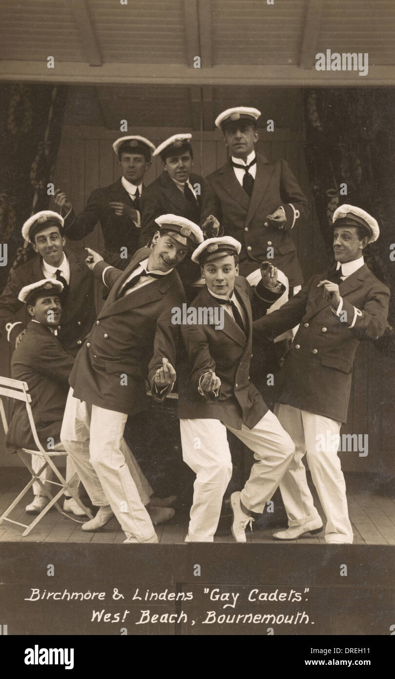 'Gay Cadets' - Bournemouth - Stock Image