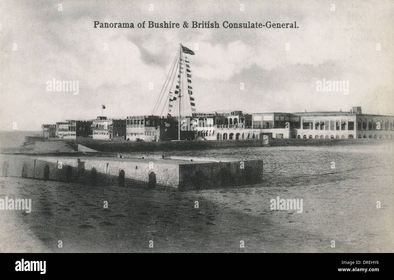 British Consulate General Headquarters, Bushehr - Stock Image