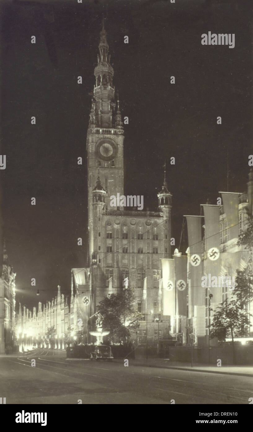 Gdansk, Poland under Nazi rule - Stock Image