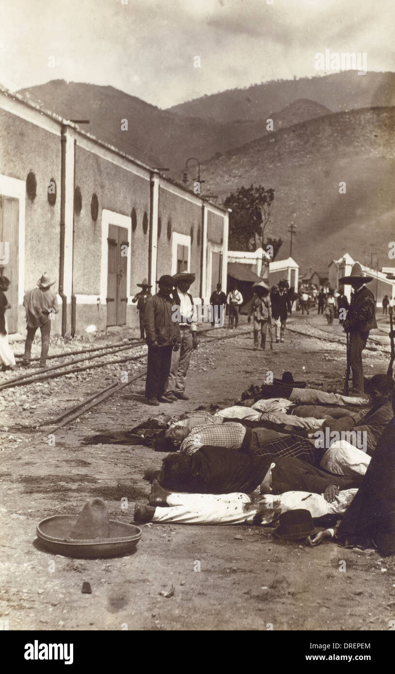 Mexican Revolution - - Stock Image