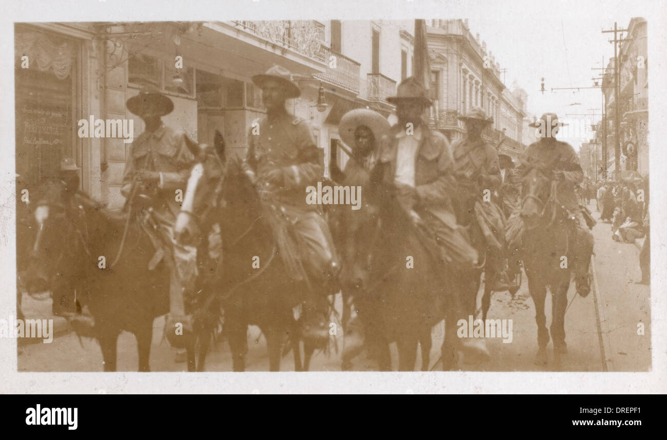 Mexican Revolution - Constitutionalist Revolt - Stock Image