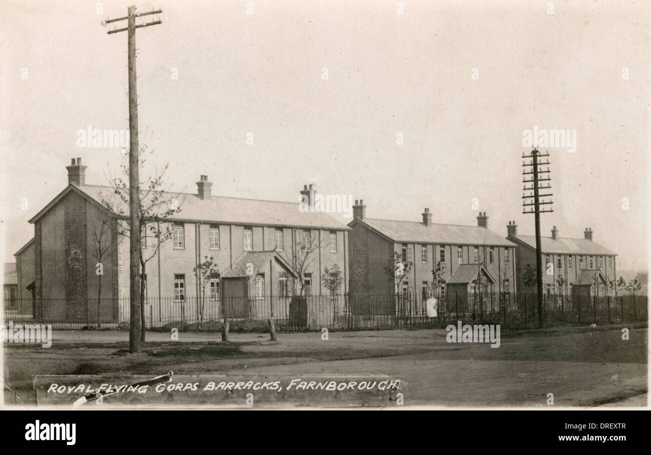 Royal Flying Corps Barracks, Farnborough - Stock Image
