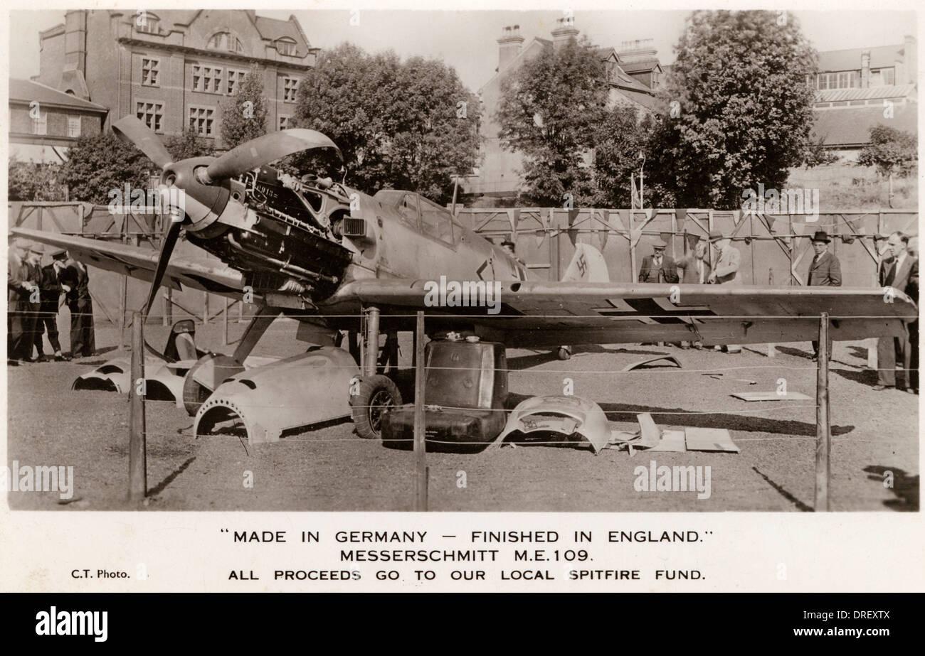 Messerschmitt M.E. 109 - Stock Image