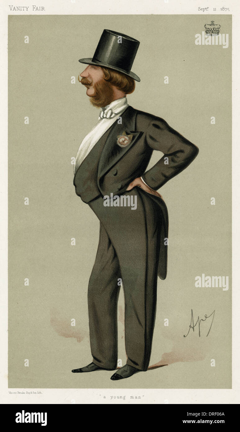 Lord Barrington, Vanity Fair, Spy - Stock Image