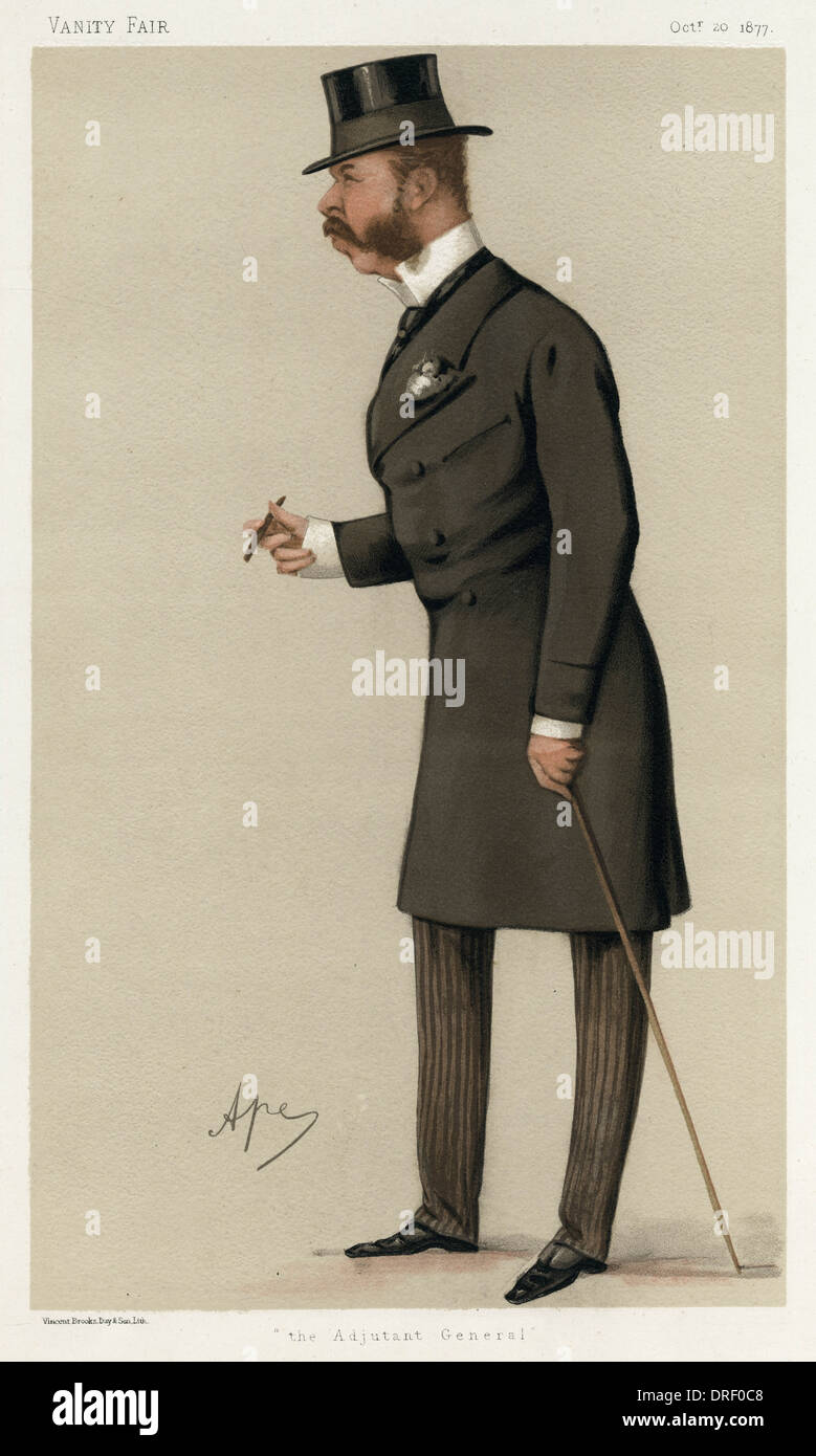 Sir Charles Ellice, Vanity Fair, Spy - Stock Image