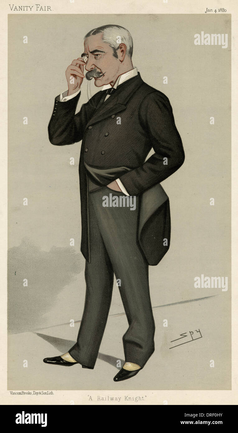 Sir Myles Fenton, Vanity Fair, Spy - Stock Image