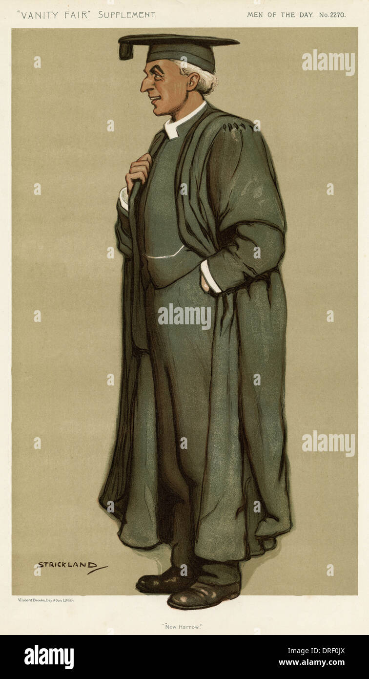 Lionel G. B. Justice Ford, Vanity Fair, Strickland - Stock Image