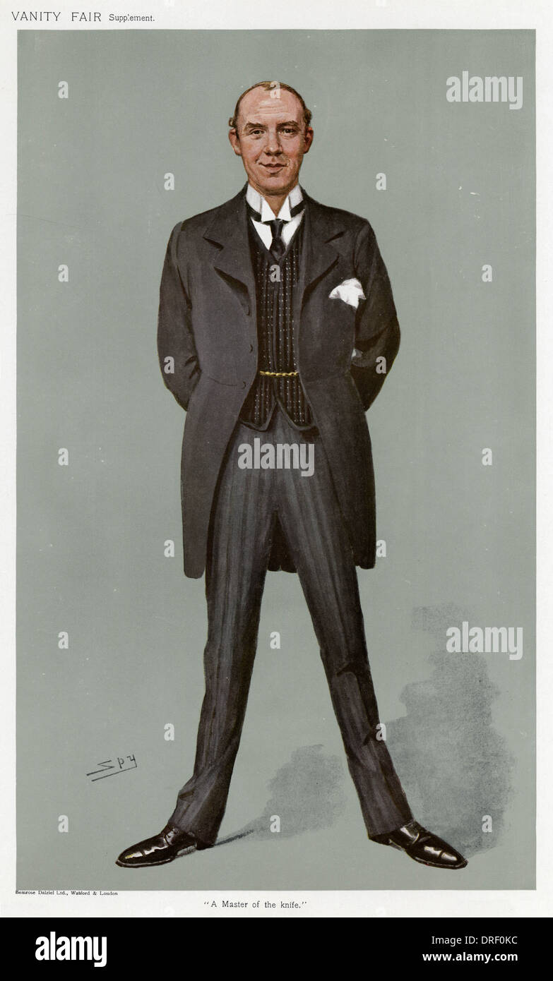 Sir Alfred Downing Fripp, Vanity Fair, Spy - Stock Image