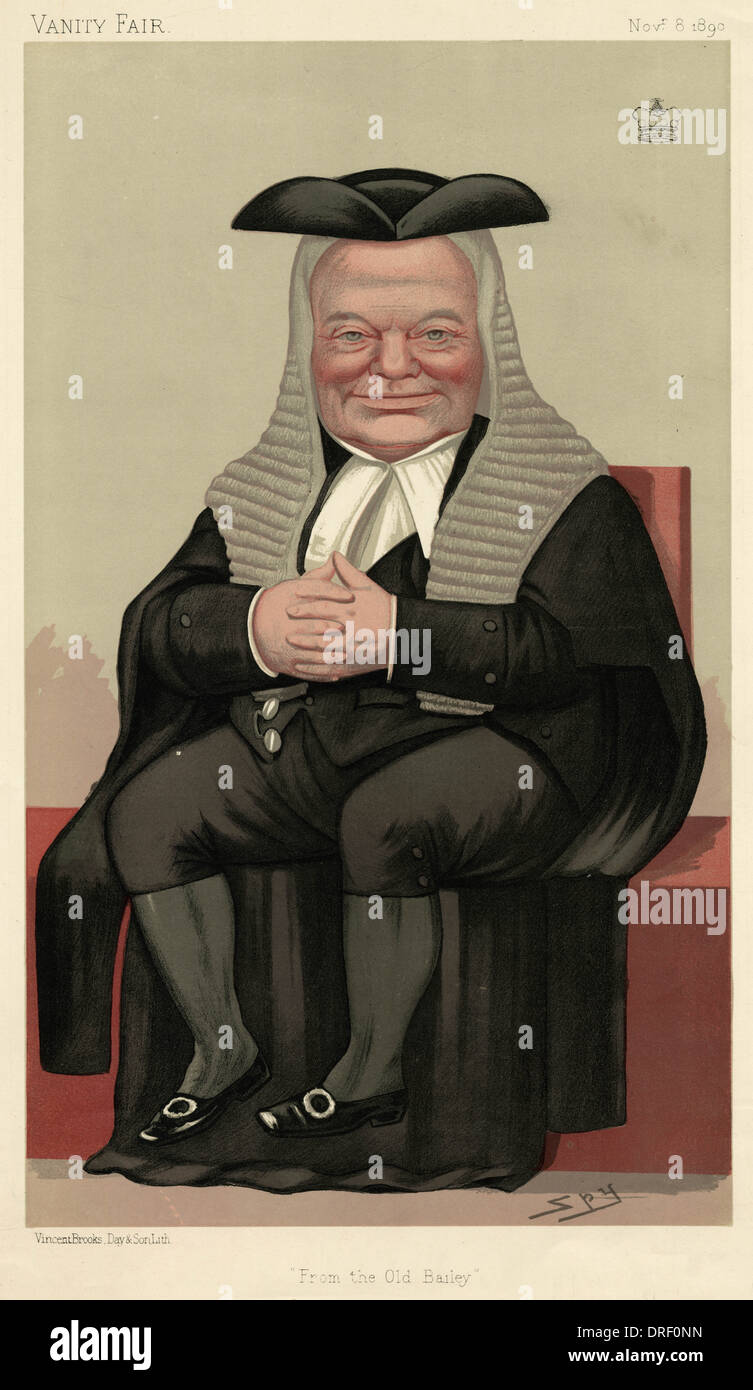 Lord Halsbury, Vanity Fair, Spy - Stock Image