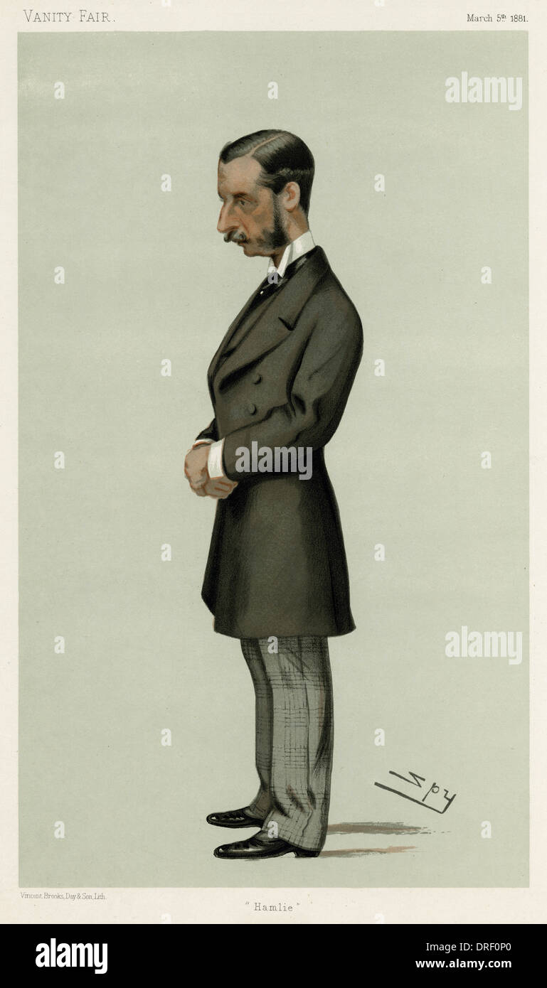 The Marquess of Hamilton, Vanity Fair, Spy - Stock Image
