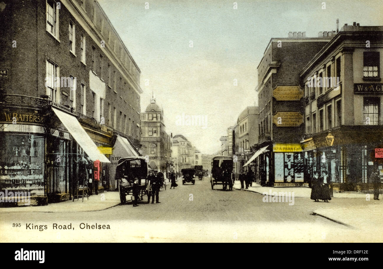 King's Road, Chelsea - London - Stock Image