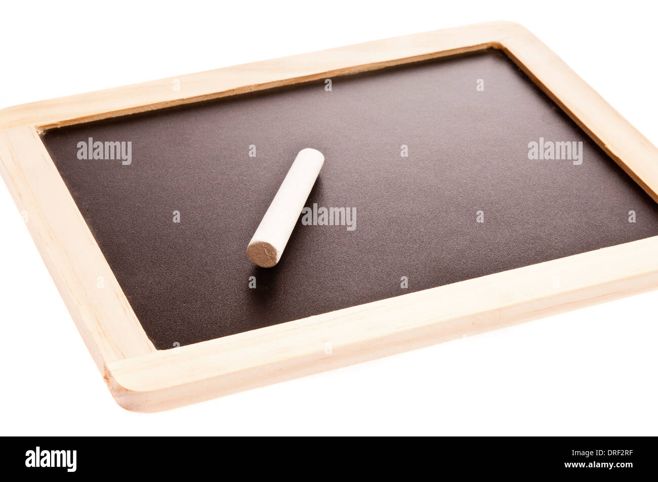 portable chalkboard - Stock Image