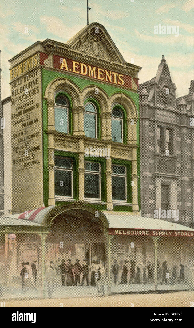 Edments Supply Stores, Melbourne - Stock Image