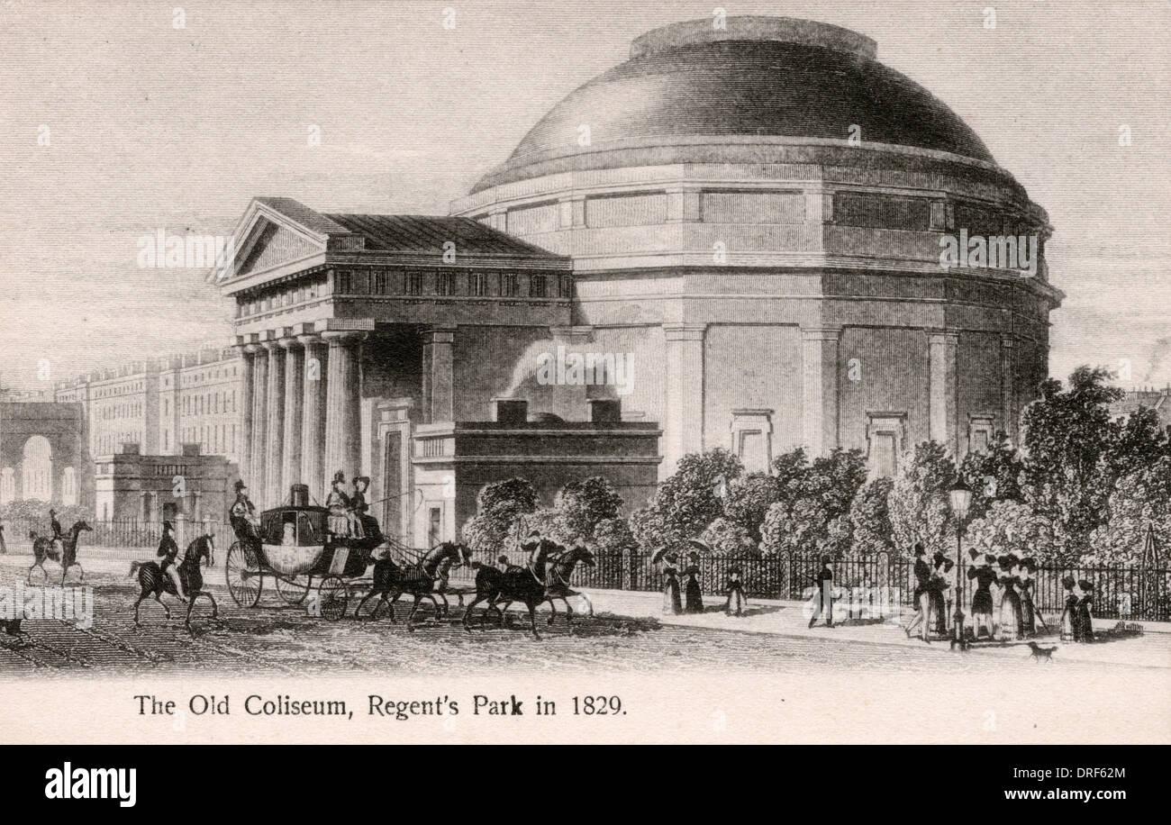 Old Coliseum, Regent's Park Stock Photo