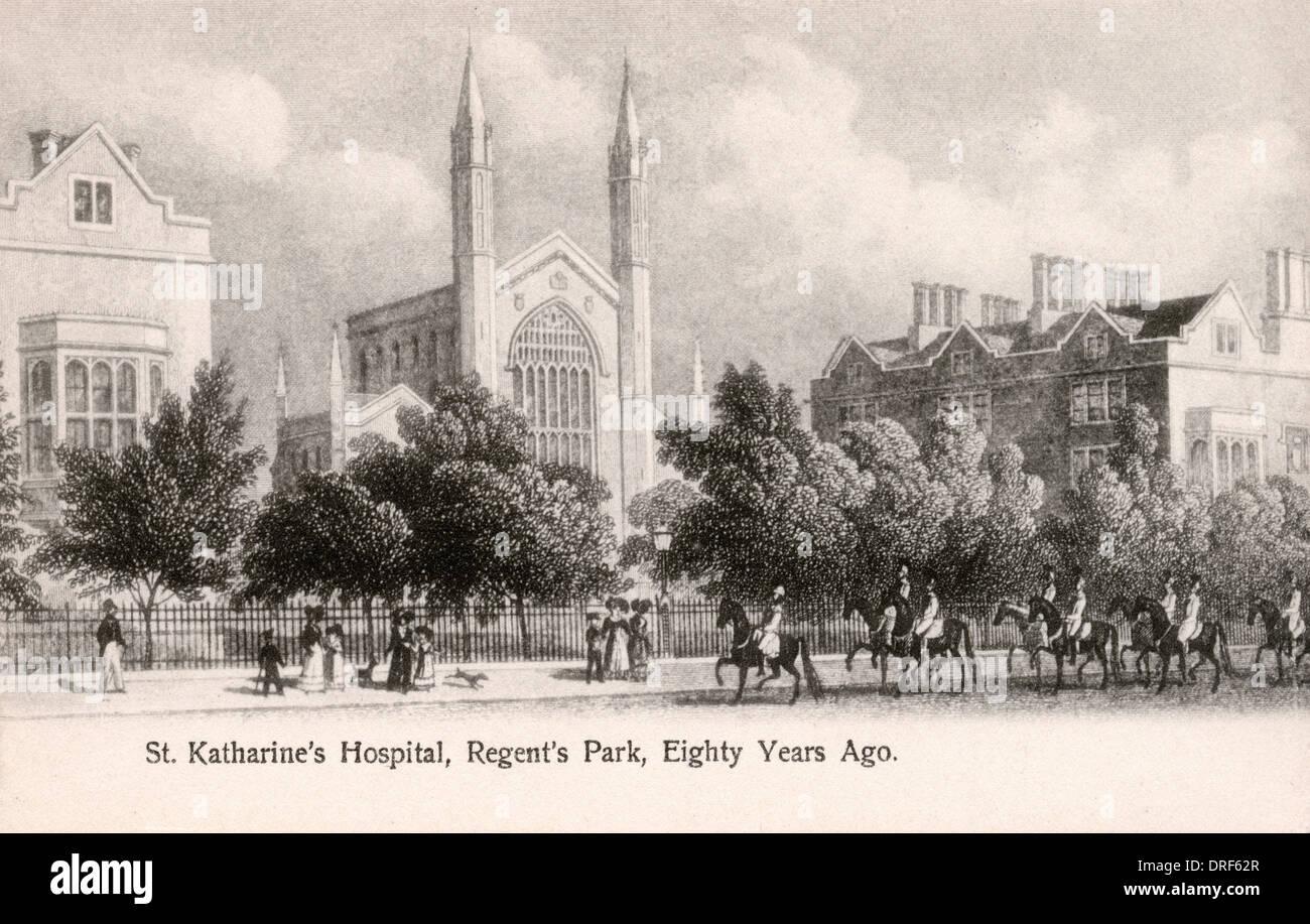St. Katharine's Hospital, Regent's Park Stock Photo
