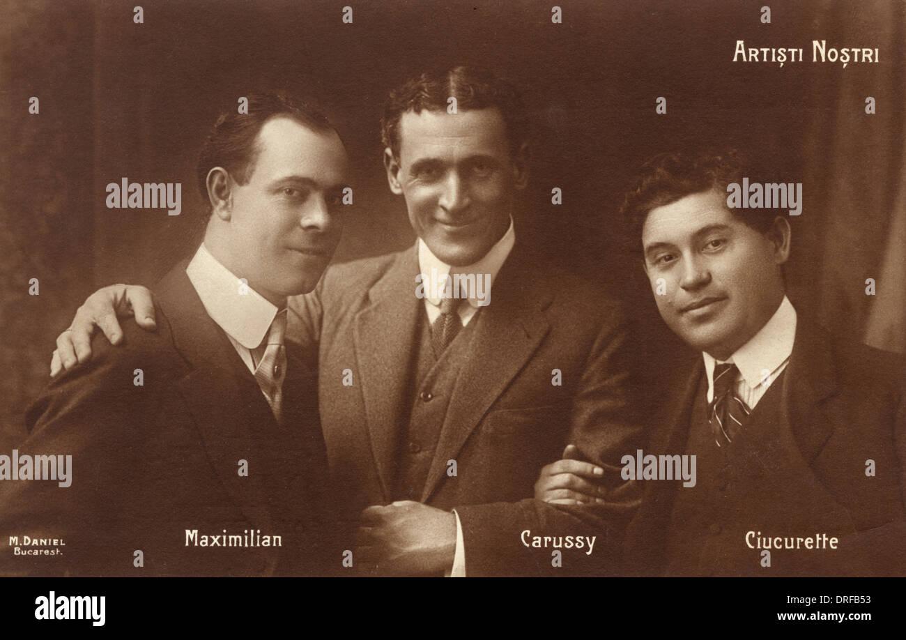 Romanian Opera Stars - Stock Image