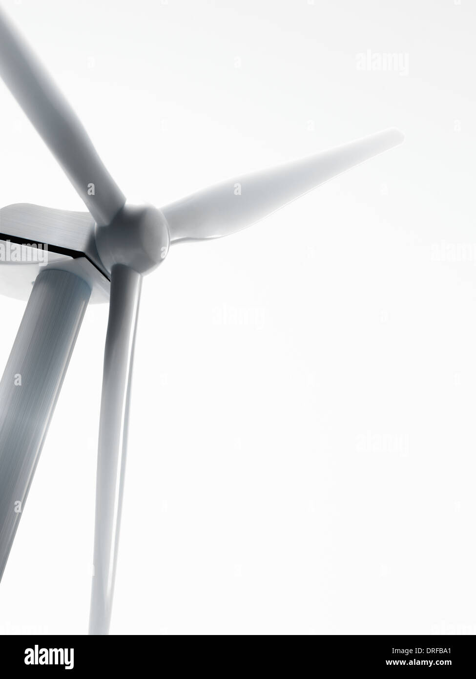 wind turbine or wind power generator - Stock Image