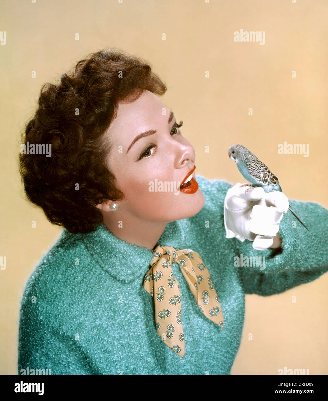 KATHRYN GRAYSON (1922-2010) US film actress and operatic soprano about  1950 - Stock Image