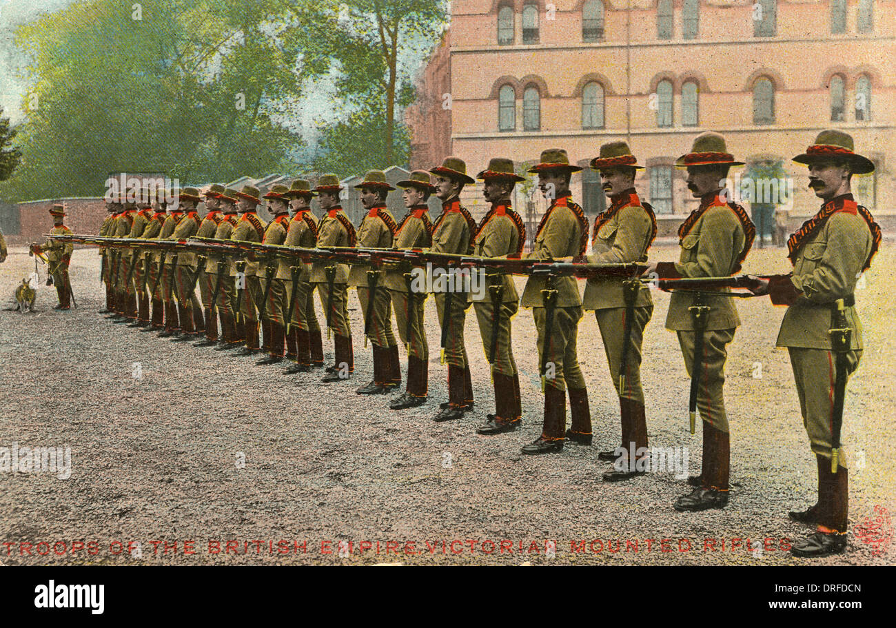 Australia - Victorian Mounted Rifles - Stock Image