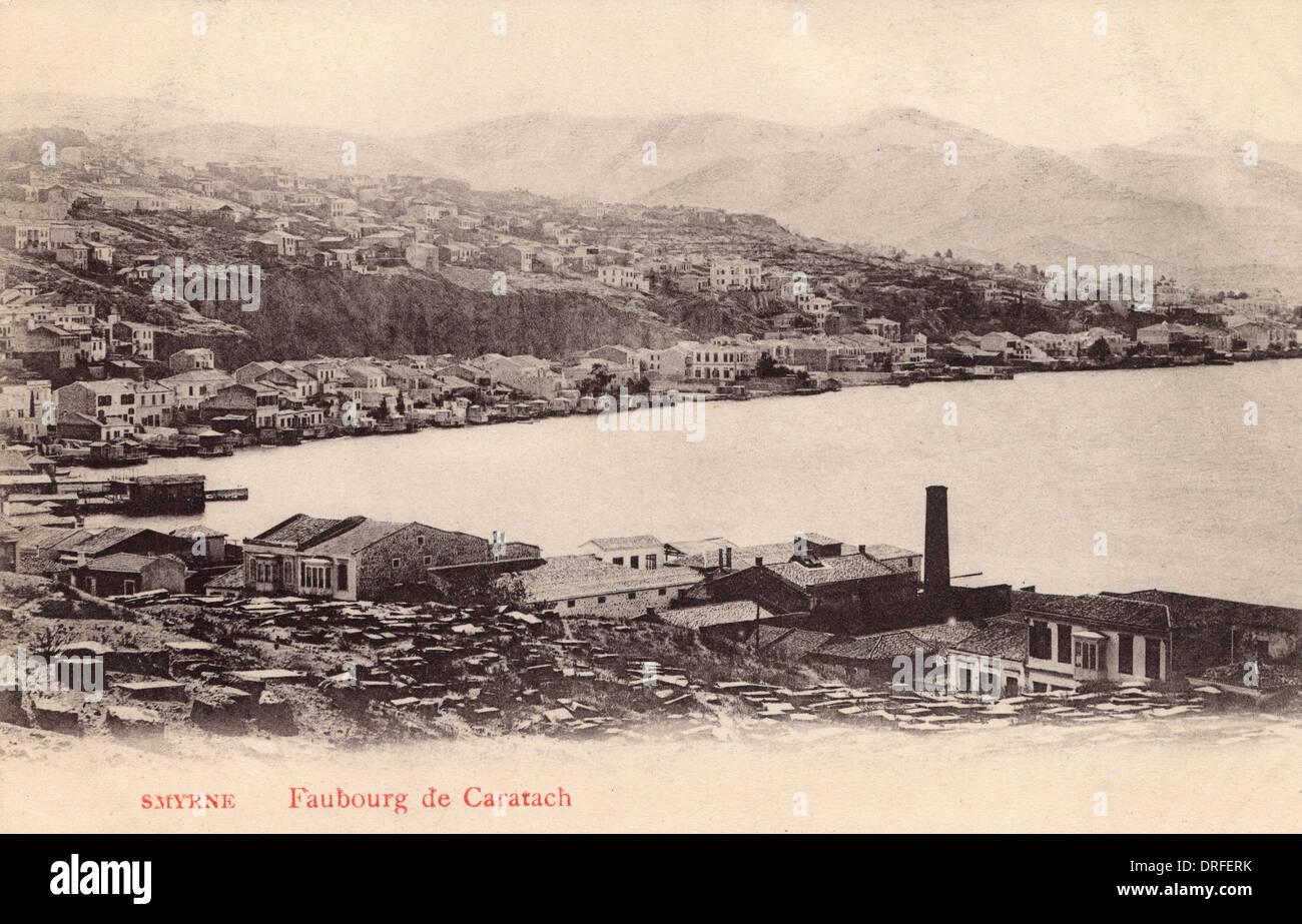 Suburb of Caratach, Izmir,Turkey - Stock Image