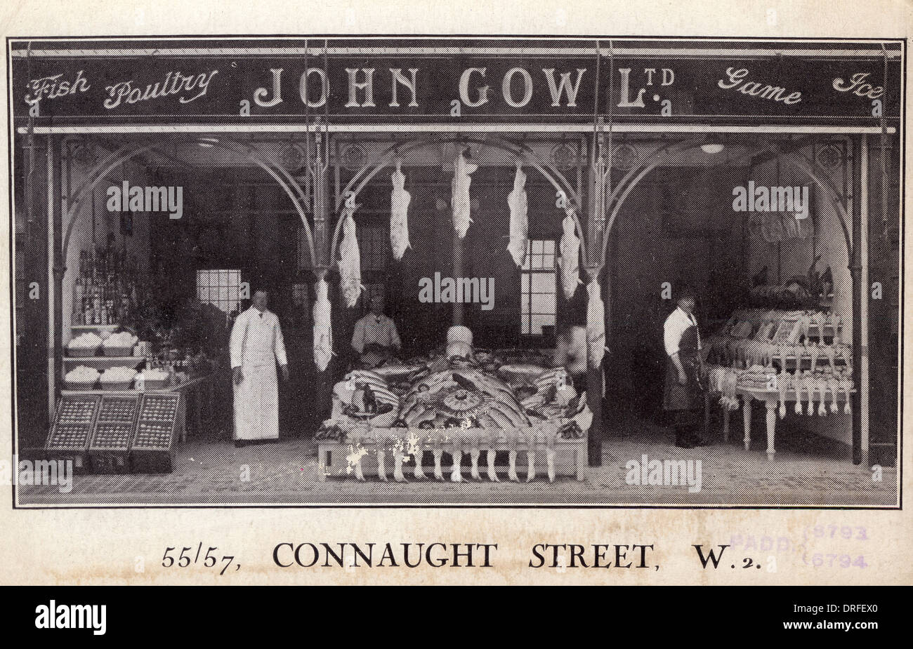John Gow Ltd - Conaught Street - Stock Image