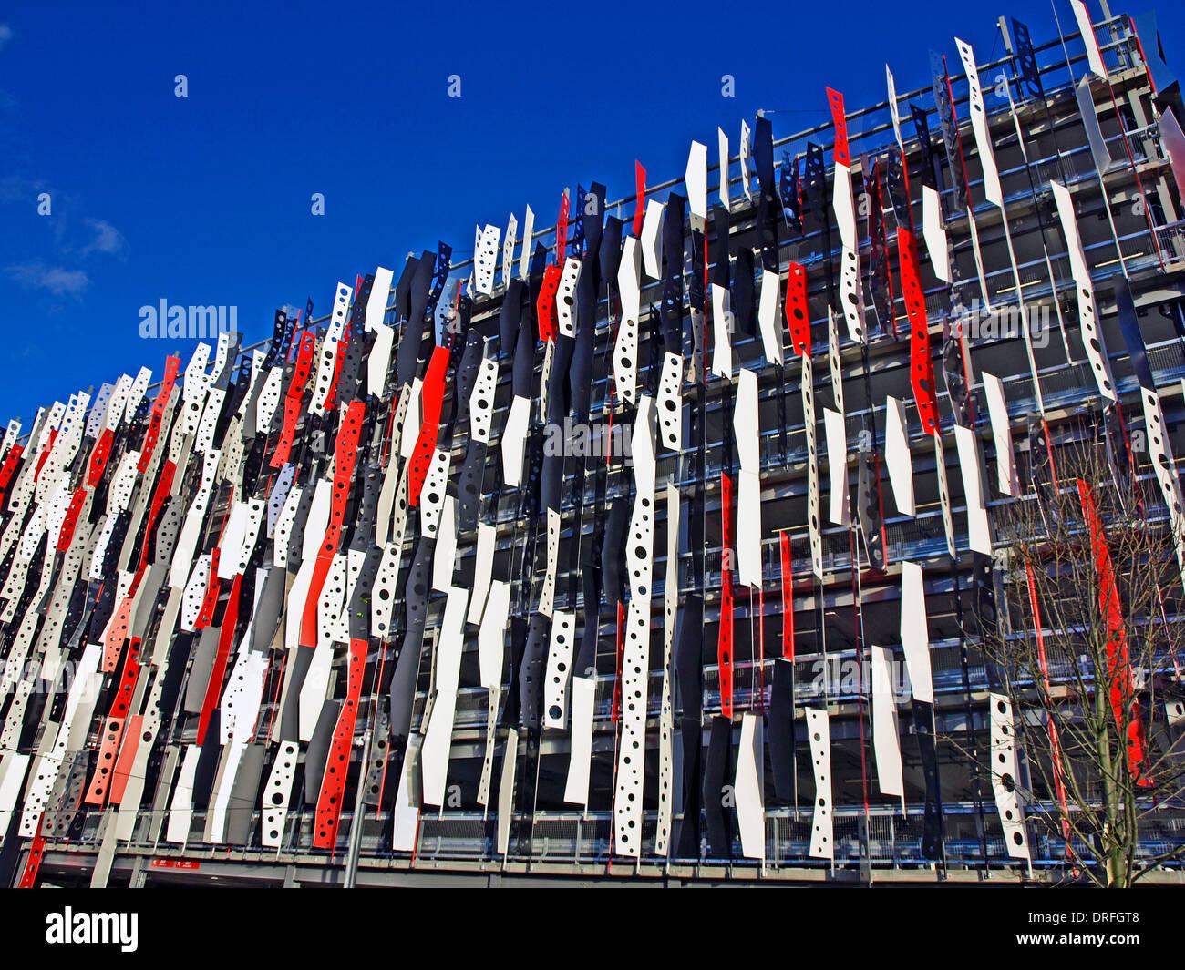 The London Designer Outlet car park, Wembley, London Borough of Brent, London, England, United Kingdom - Stock Image