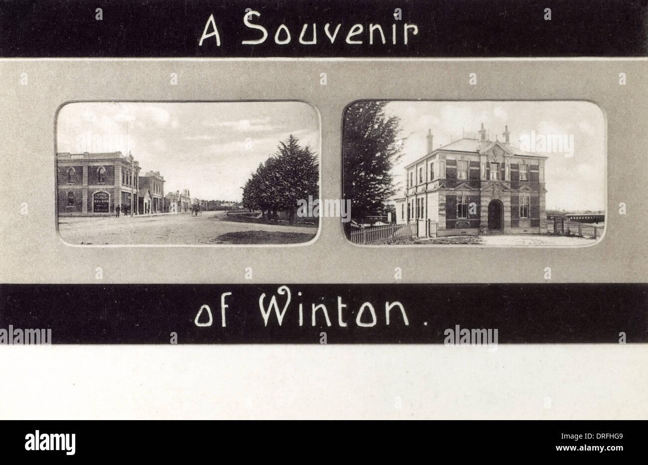 Souvenir of Winston - New Zealand - Stock Image