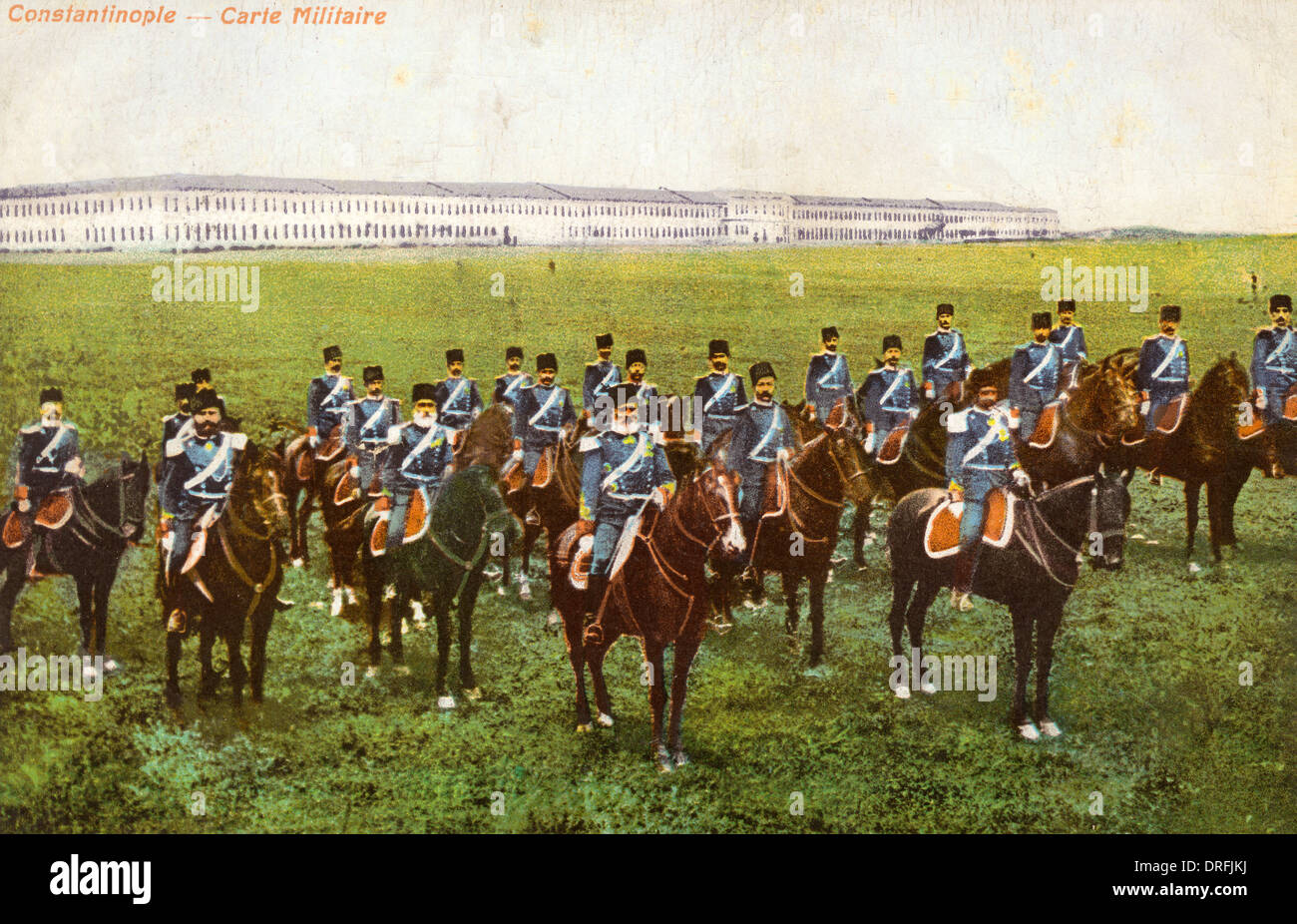 Regiment of Lancers - Constantinople - Stock Image