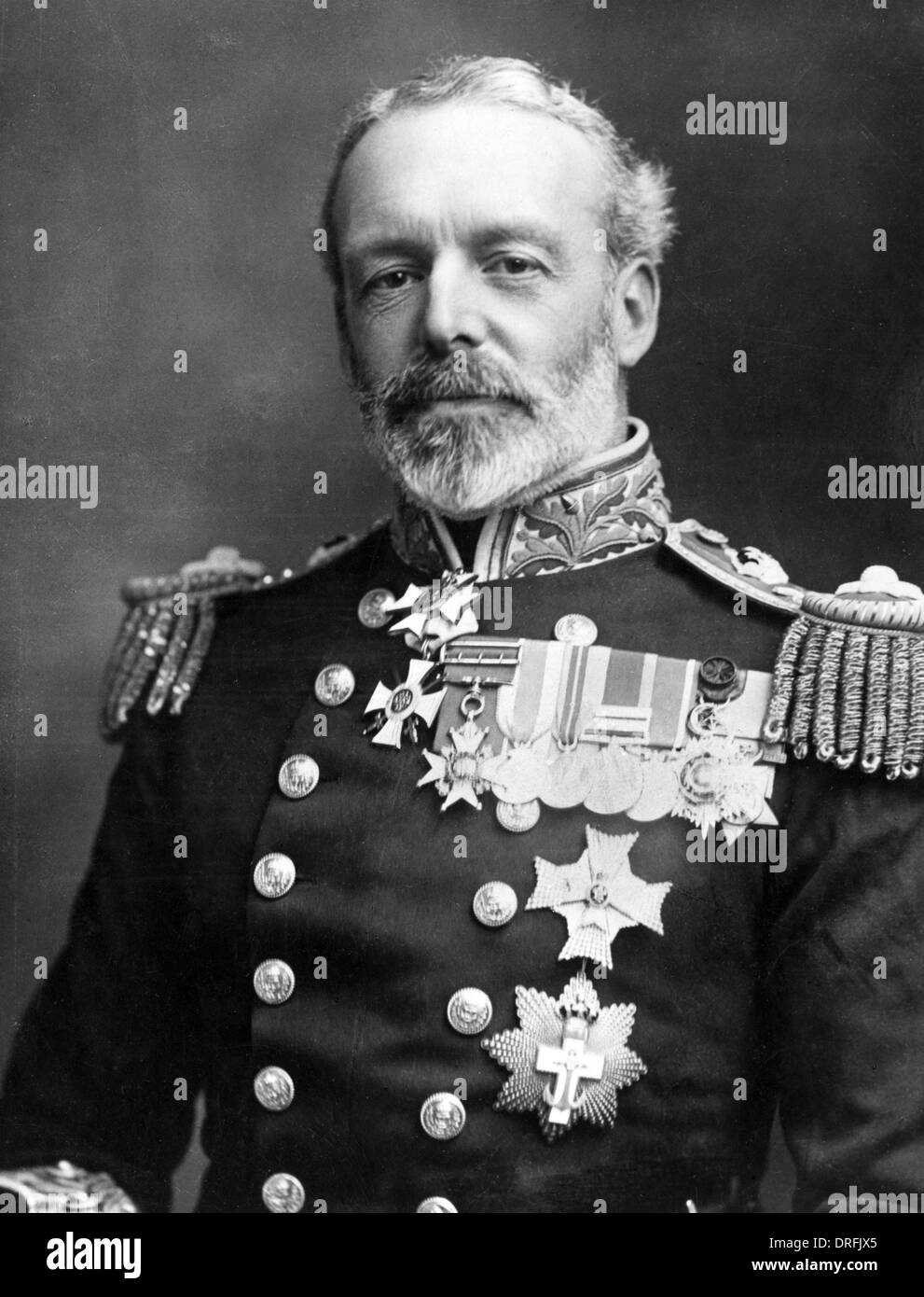 Rear Admiral Sir Christopher Cradock - Stock Image