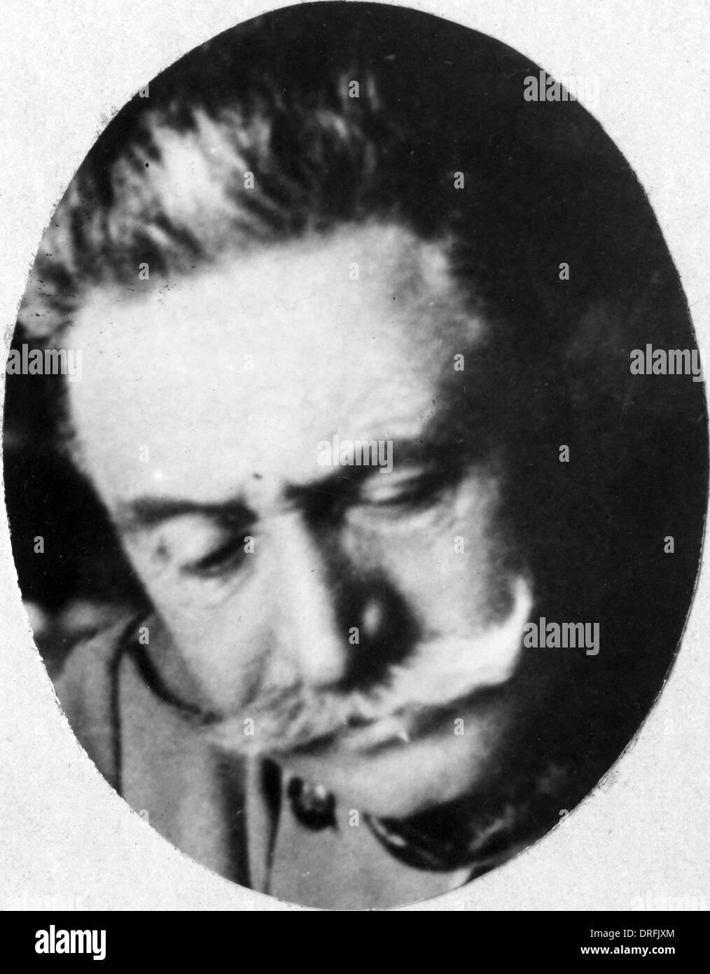 Conrad von Hotzendorf, Austro-Hungarian Army Stock Photo